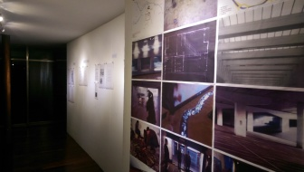 Previous projects and propositions displayed at the Glass Box gallery