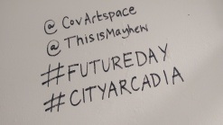 See #futureday on Twitter and Instagram for images and commentary by practitioners and volunteers